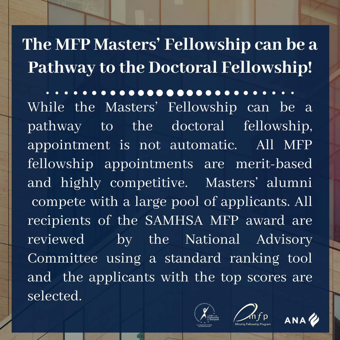 Pathway to Doctoral Fellowship